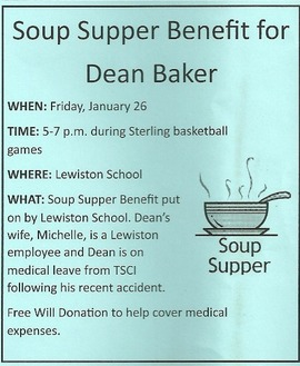 Dean Baker Soup Supper