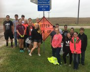 FFA Trash Pickup 2018