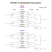 Mudecas Girls Basketball Tournament 2019